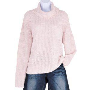 NWT Belldini Silver Rose Metallic Thread Sweater